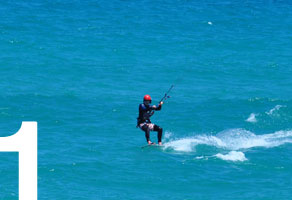 kiteboarding course riding upwind