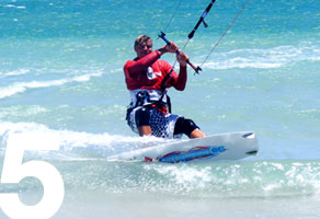 kiteboarding lessons upwind