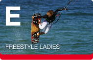Advanced Kiteboarding Course Women