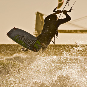 Kitesurfing supervision Cape Town