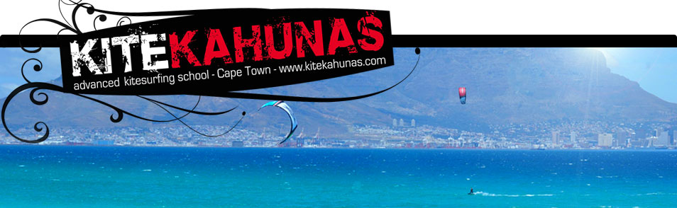kitesurfing spots in Cape Town / South Africa