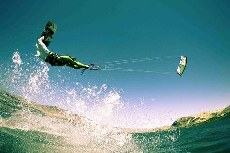 kitesurfing big air course cape town