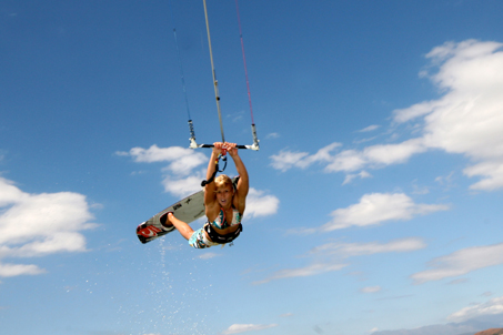 big air kiteboarding lessons Cape Town