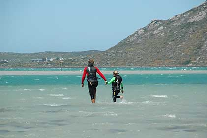 kiteboarding children lessons