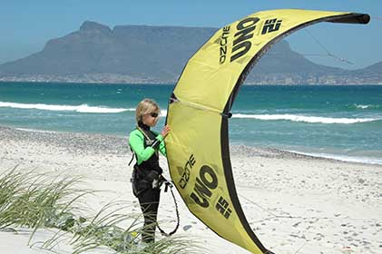 children kiteboarding lessons