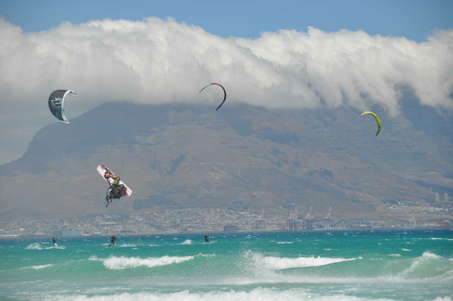 kiteboarding big air Table View