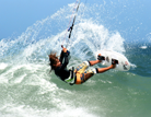 Kitesurfing holidays in South Africa