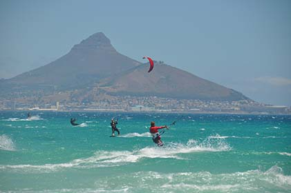 kitesurfing South Africa supervision