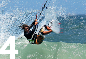 kitesurfing waves Cape Town