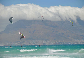 Kitesurfing with no fear