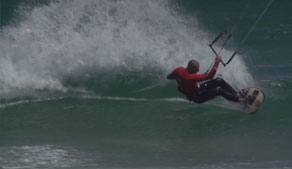 wave kiteboarding